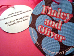 finley and oliver - double-sided hang tags
