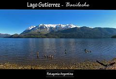 Lago Gutierrez / Bariloche (Facu551) Tags: parque patagonia lake argentina rio lago pano negro catedral cerro panoramica villa gutierrez sur nacional bariloche nahuel huapi cauquen cauqun arelauquen canquen