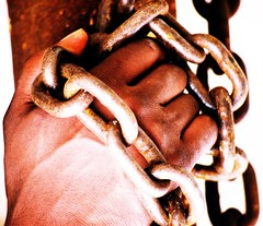 Chains (Shay B. Malden) Tags: man black macro art film canon perception hand chain shay bound shackle twitter flickraward