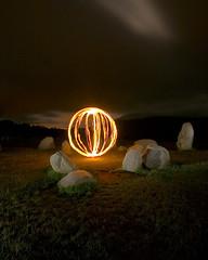 It's a Fire (- Hob -) Tags: circle orb sphere lightball lightsphere lapp straightfromraw lightorb lightartperformancephotography localpaganswereoutraged dearforteantimes localpaganswereconfused localchristianswerefearful