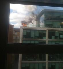 Google UK Fire