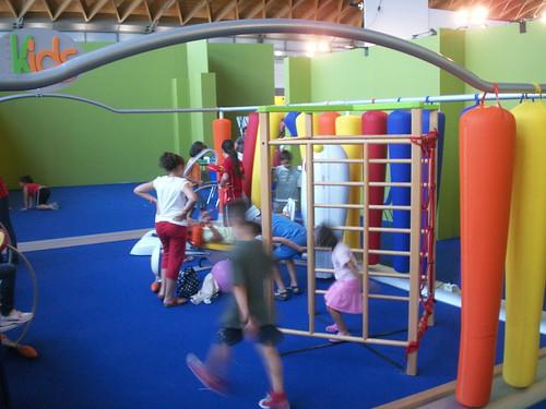 l'area Kids di Panatta Sport