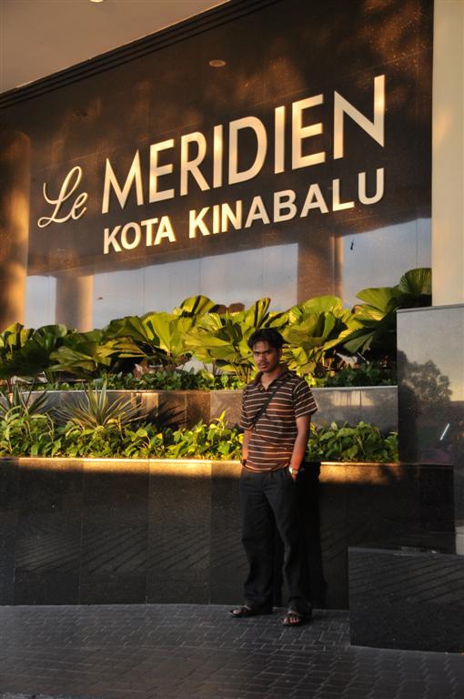 Di Hotel Le MERIDIAN Kota Kinabalu