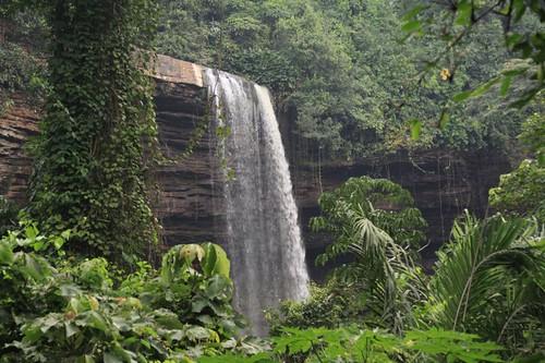 Boti Falls, Ghana.