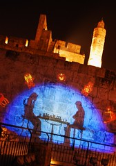 Mind Games (Or Hiltch) Tags: night lights israel jerusalem capital games mind scifi jewish  alquds davidstower d80  yerushalyim orhiltch