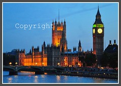 House of Commons Westminster London (David Dawson Photography) Tags: house london westminster thames night reflections lights big nikon ben dusk commons bigben houseofcommons d90