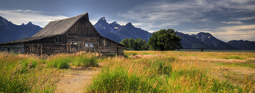 Mormon Row, Grand Tetons National Park