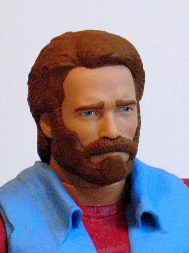 Chuck Norris Action Figure Custom