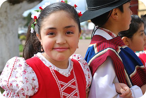 little Chilean girl