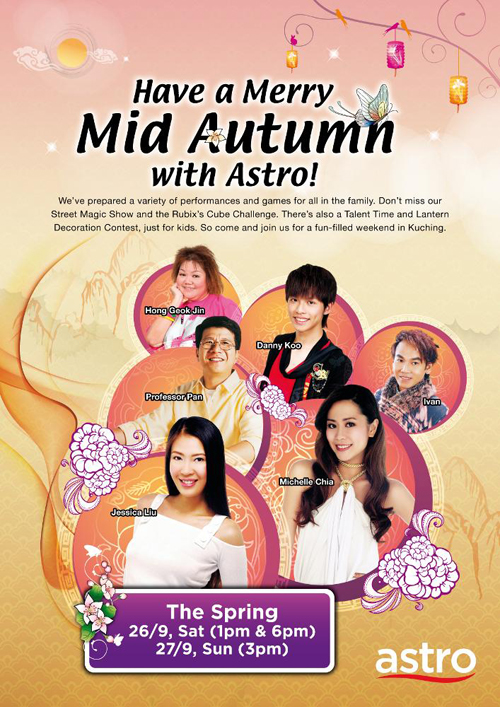 Celebrating Mid-Autumn Festival with Astro @ Kuching