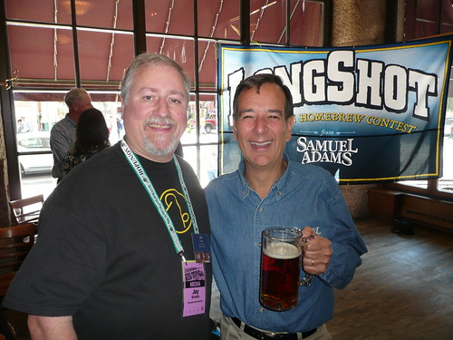 Me and Jim Koch