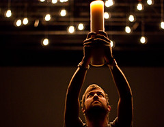 Jon Egan - Desperation Conference 2009 (Carter Moore) Tags: world life new light summer music church face up bulb photography 50mm lights am hands jon candle pentax f14 band christian moore conference carter uganda egan desperation 2009 the ftlr i k200d heartwork
