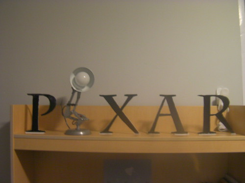original pixar logo. Pixar Logo view 4