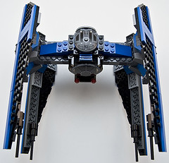 small 6206 tie fighter top (Big Cam crsx) Tags: starwars lego 6206