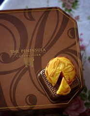 Day 249 - The Peninsula Egg Custard Moon Cake