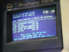 Premier RER B (slasher-fun) Tags: paris luxembourg nuitblanche rer rerb nuitblancheparis mi79 nuitblanche2009 nuitblanche2009paris