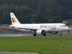 A320-200 EC-FDB LECO (joseluismaquieira) Tags: spain coruña jet airbus medium takeoff comercial leco a320200 coru corua ecfdb