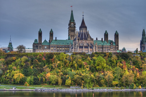 Parliament by the unholy light of HDR photography