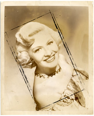 Marilyn Maxwell (Chris Draper) Tags: ephemera pressphoto chrisdraper marilynmaxwell
