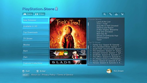 PlayStation Network Video Content Update – PlayStation Blog