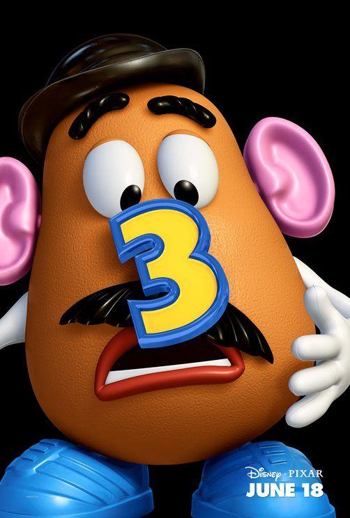 poster Toy Story 3 Señor Cabeza de Patata