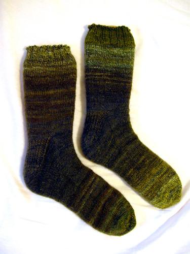 Spicy's Birthday Socks
