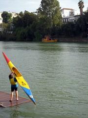 Séville - Kayak sur le Guadalquivir