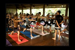 Sharath 2009 Tour (yogasurf) Tags: bali yoga workshop yogi asana sharath ashtanga vinyasa yogasurf
