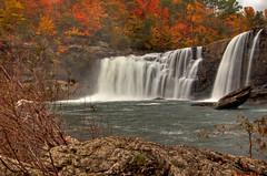Little River Falls (the waterfallhunter) Tags: county autumn fall waterfall cherokee littlerivercanyon lookoutmountain hdr dekalbcounty fortpaynealabama littleriverfalls loriwalden