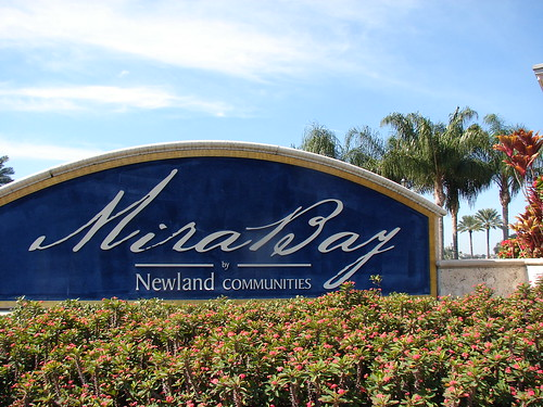 Tampa Florida Resort Homes Mira Bay Mira Bay Homes Boating Community