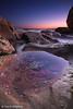 Alien Landscape? (-yury-) Tags: ocean light sea seascape beach water sunrise canon landscape rocks sydney australia 5d australianlandscape landscapephotography whalebeach
