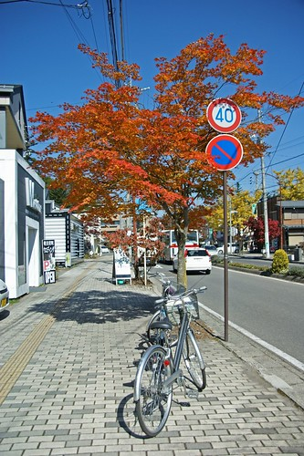 a nice biking day at Karuizawa