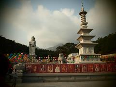 Daegu Temple Buddha (Jonny Gilbert) Tags: school night pen temple buddha buddhist south olympus korea ep1