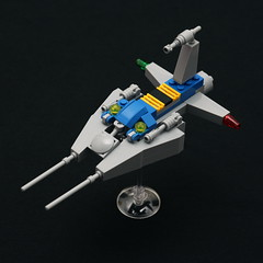 Neo Classic VV Drone #1 (pasukaru76) Tags: classic lego space moc drone ncs starfighter sigma105mm vicviper