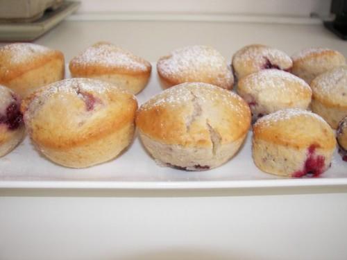 vişneli muffinler