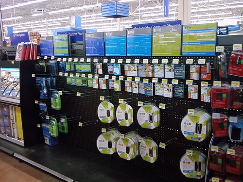 Wal-Mart - Sioux Center, Iowa - Prepaid Phones