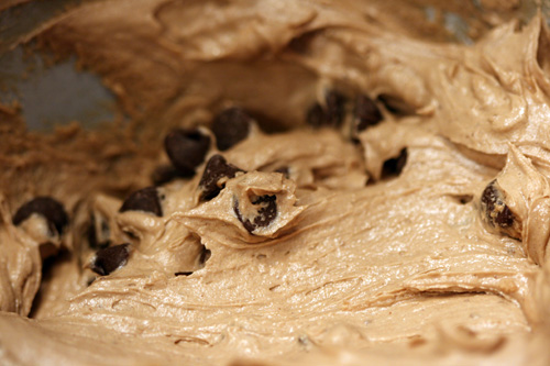 chocolate bread batter