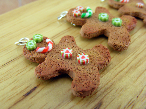 Gingerbread Man Charms - Side B