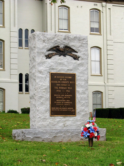 Hamblen County Korean Memorial
