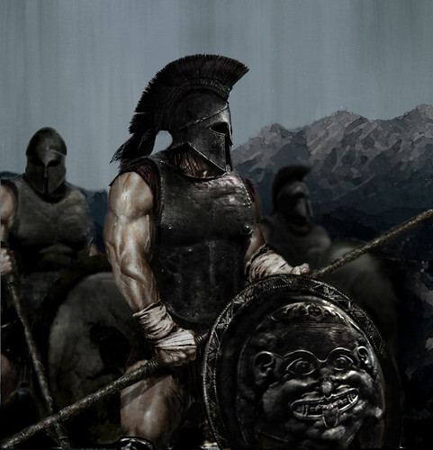 Late 6th Century Spartan Soldiers