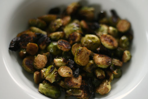 Quick and Easy Roasted Brussels Sprouts Recipe