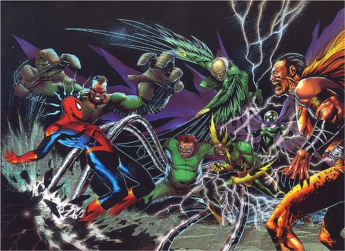 Fan cast spider man 6 sinister six