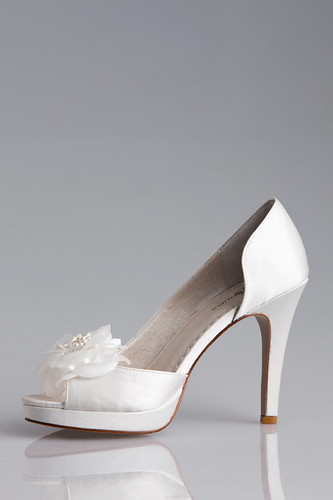 A daughter's wedding shoes.