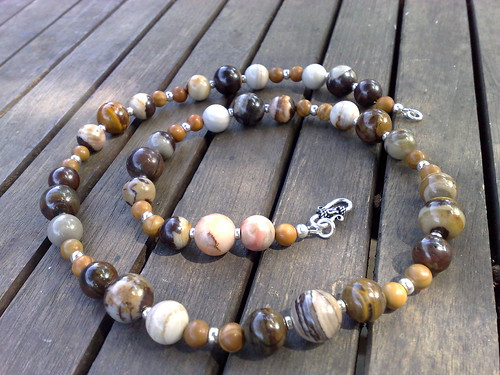 Jupiter jasper necklace