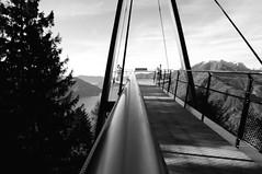 passerella panoramica, cardada @ locarno svizzera (Toni_V) Tags: bw mountains monochrome schweiz switzerland tessin ticino dof suisse hiking perspective deck svizzera 2009 blackwhit observationdeck randonne passerella d300 cardada aussichtsplattform dsc4792 091024 passerellapanoramicacardada