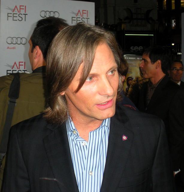 Viggo Mortensen, The Road Movie Screening, AFI LA 2009