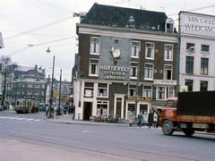 GVB Amsterdam 648, Lijn 17, Martelaarsgracht (1965) (Library of Amsterdam Public Transport) Tags: amsterdam trolley tram streetcar trams tramway strassenbahn gvb aec stadsarchief tram5 verheul gvba gemeentevervoerbedrijf karpershoek luchtbus beijnes grijzegelede