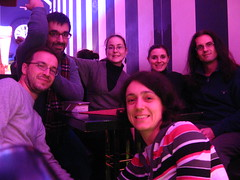 con gli amici al bar