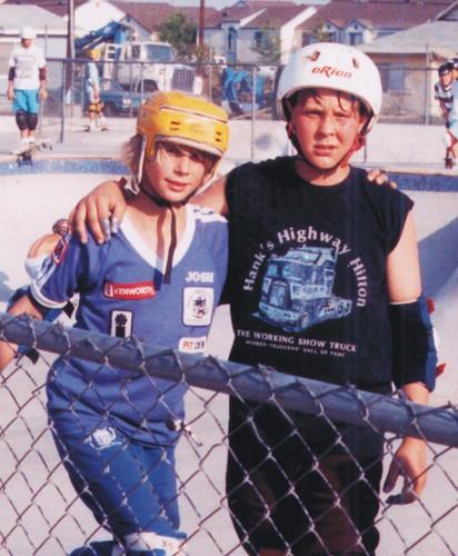 Rodney & Josh -2 Best Friends Together @ Pipeline 5-8-88  Close-Up by fotofreddie1.