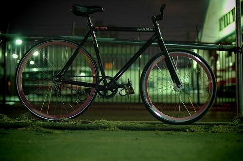 Yama's New Bike